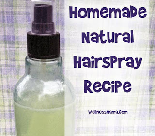 DIY Natural Hairspray
