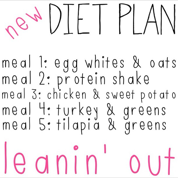 updated meal plan — shine or set