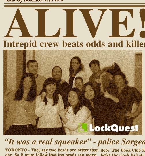 LockQuest Escape the Book Club Killer escape game