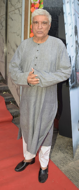 14. Javed Akhtar during Mahurat ceremony  of the film GENIUS