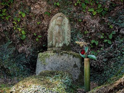 Stone image of Jizo-bosatsu: Tokei-ji
