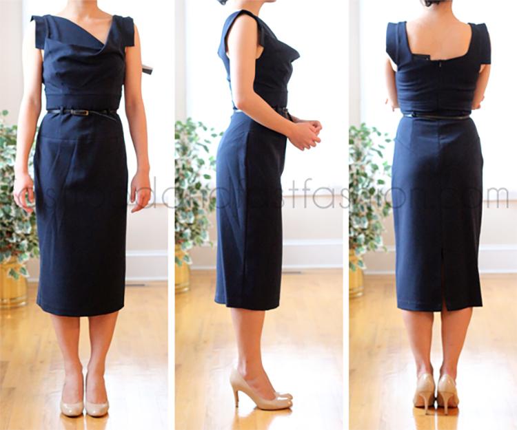 bd956e0b3f4e Review  Black Halo Classic Jackie O Sheath Dress - Elle Blogs