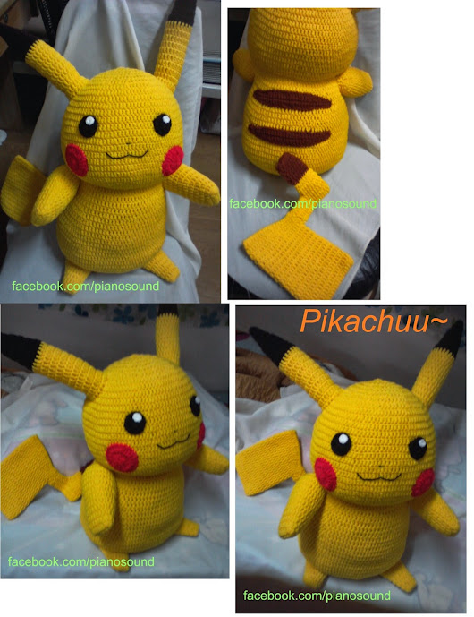 Pikachu pattern, additional tips and tricks.