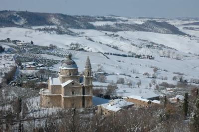 Montepulciano neve