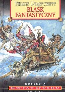 """""""Blask fantastyczny"""" - Terry Pratchett"""
