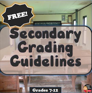 Secondary Grading Guidelines