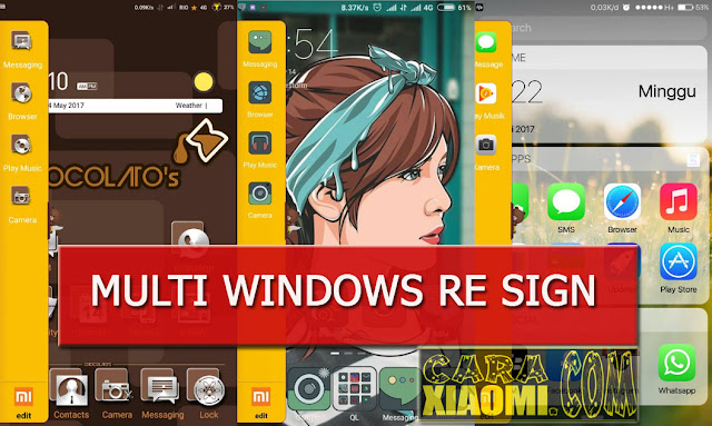 Tutorial MultiWindow Base Re Sign Un-Root For Xiaomi MIUI