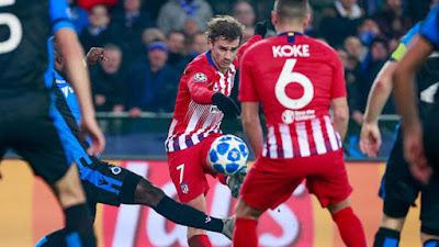 At Madrid vs FC Brugge
