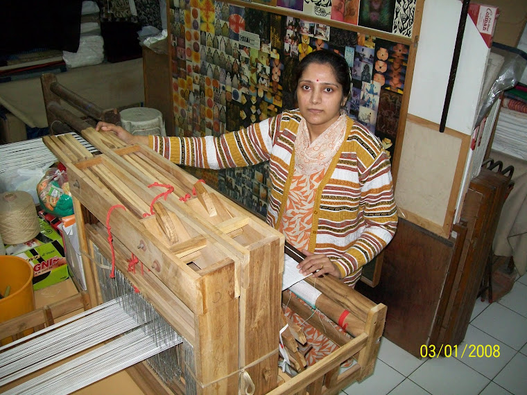 "TEXTILE INSTITUTE of Textile Weaving Construction, Theories and Woven Design ""GIFT Gandhi NGOs"""