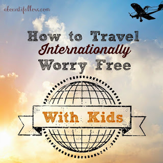 Worry Free Travel with Young Kids