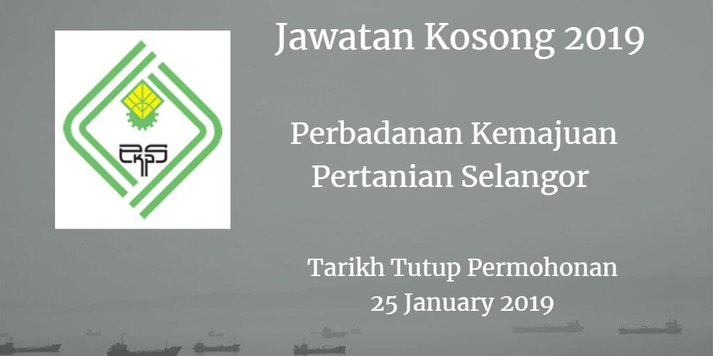 Jawatan Kosong PKPS 25 January2019