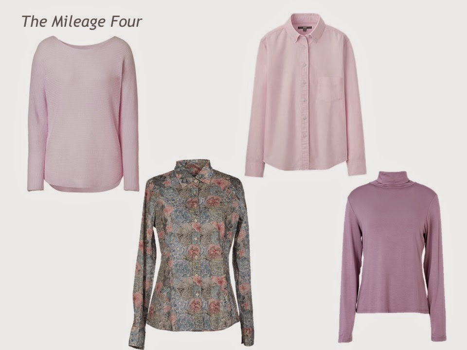A Four by Four Capsule Wardrobe in Denim, Grey, Pink and Rose ...