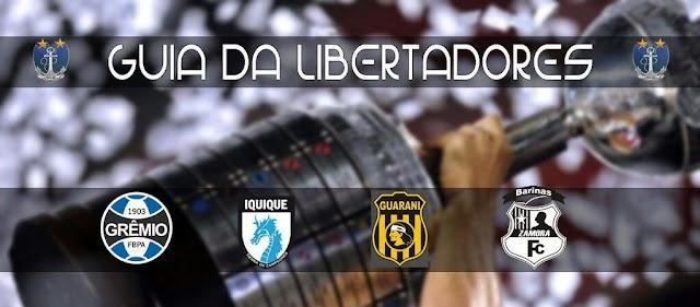 Guia da Libertadores 2017 – Grupo 8
