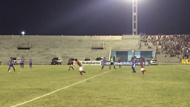 Itabaiana perde para o Campinense por 2 a 1, em Campina Grande
