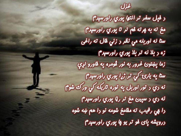 Pashto Adabi Panra: Pashto Poet Da Khpal Safar Tar Inteha ...