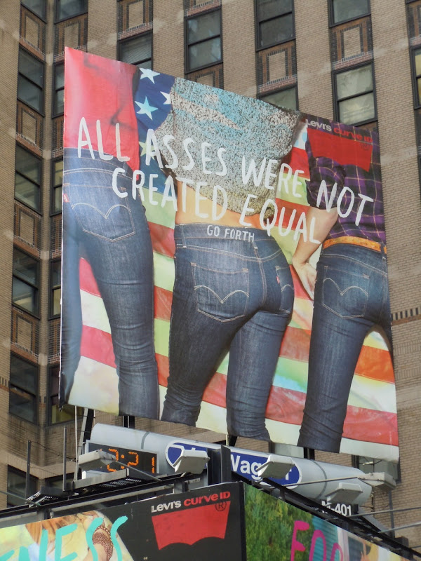 Levis All asses billboard