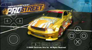 NEED FOR SPEED PRO STREET ISO PPSSPP FOR ANDROID