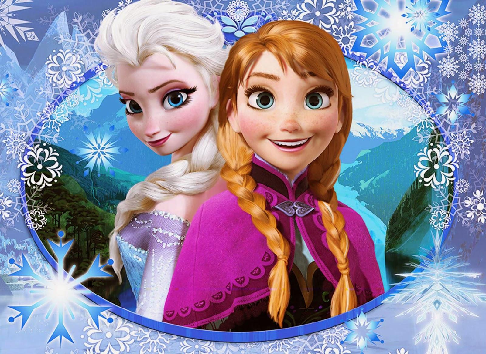 Disney Frozen Anna And Elsa