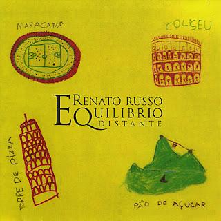 Renato Russo - Equilíbrio Distante CD Capa
