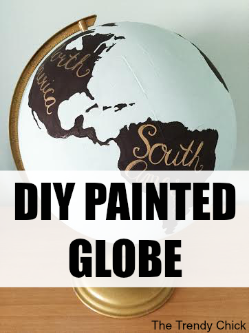 DIY Painted Globe (Under $5!)