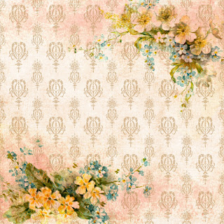 background image flower damask printable digital paper scrapbook