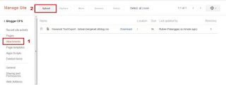 Cara Opload File Di Google Site