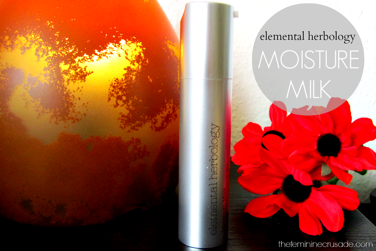 Elemental Herbology Moisture Milk