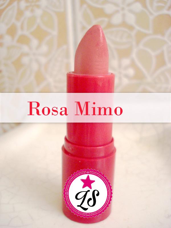 Resenha:  Batom Rosa Mimo da Natura Faces