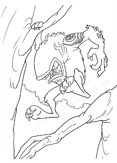 ultimate heatblast coloring pages - photo#36