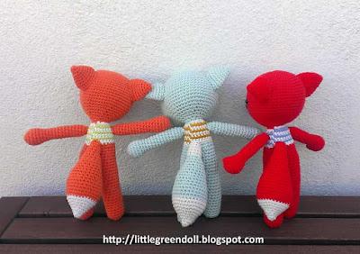 Amigurumi Crochet Zorro Pica Pau