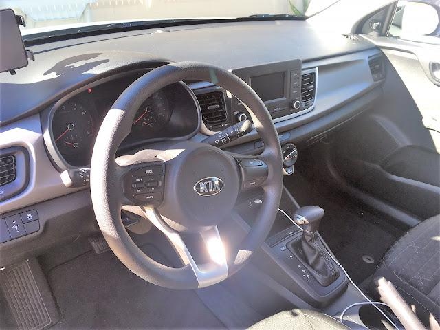 Interior view of 2018 Kia Rio LX 5-Door