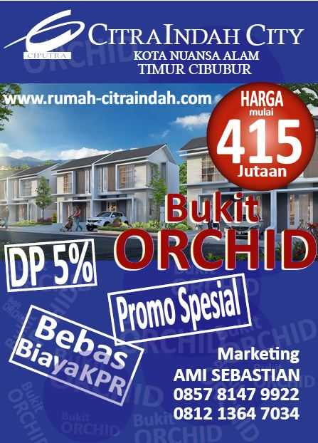 Cluster-Bukit-Orchid-Citra-Indah-City