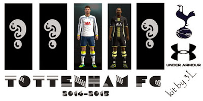 PES 2013 EPL Club Teams 2014-2015 Kits by superclassical