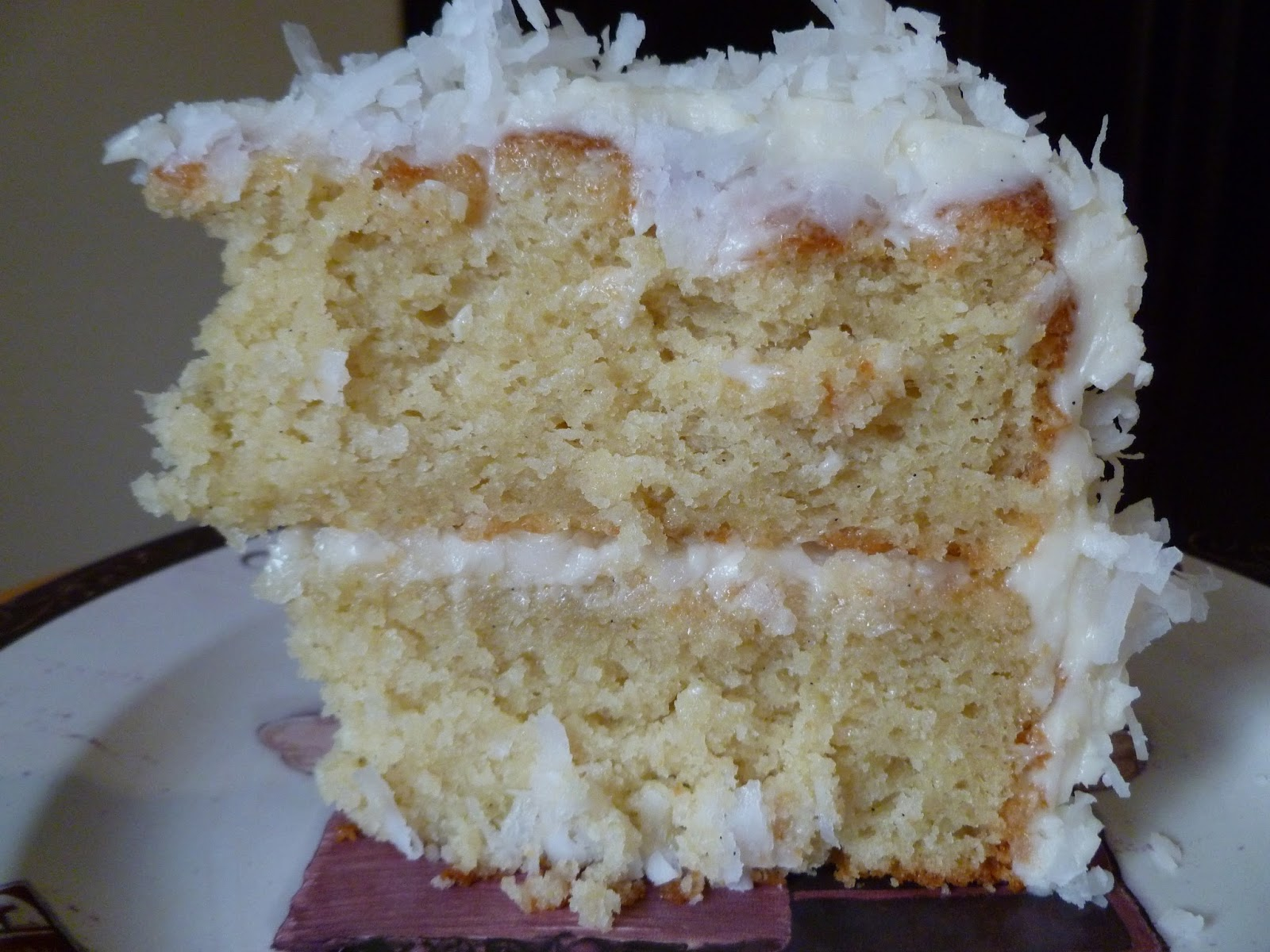 The Pastry Chef's Baking: Coconut Cake with Cream Cheese ...
