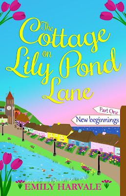 Book Cover for The Cottage on Lily Pond Lane