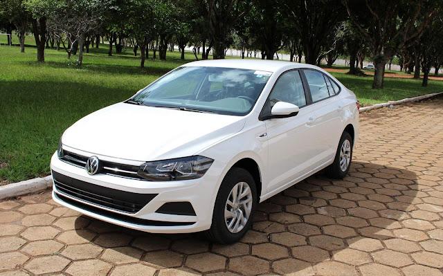 VW Virtus 2018 para taxista - Preço