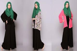 Busana Muslim Lebaran 2016 Model Baru