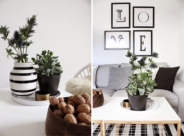 un sal n con encanto y un diy para paredes en blanco y. Black Bedroom Furniture Sets. Home Design Ideas
