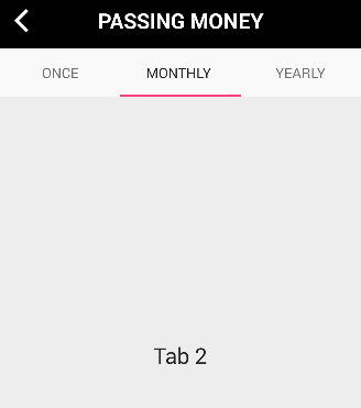 Android - A Robot with Human appearance: Android Tabs with ViewPager