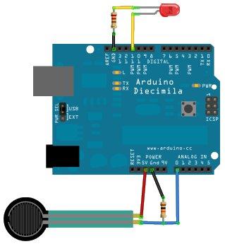 capteur de pression arduino