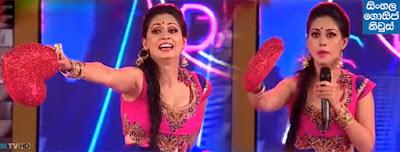 Pooja Umashankar's mistake at Derana City of Dance TV programme