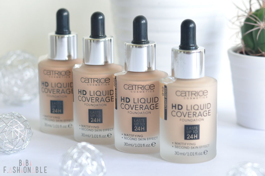 Catrice HD Liquid Coverage Foundation nah