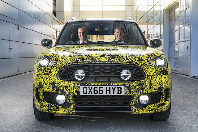 The first MINI Plug-in Hybrid. Peter Wolf and Sebastian Mackensen