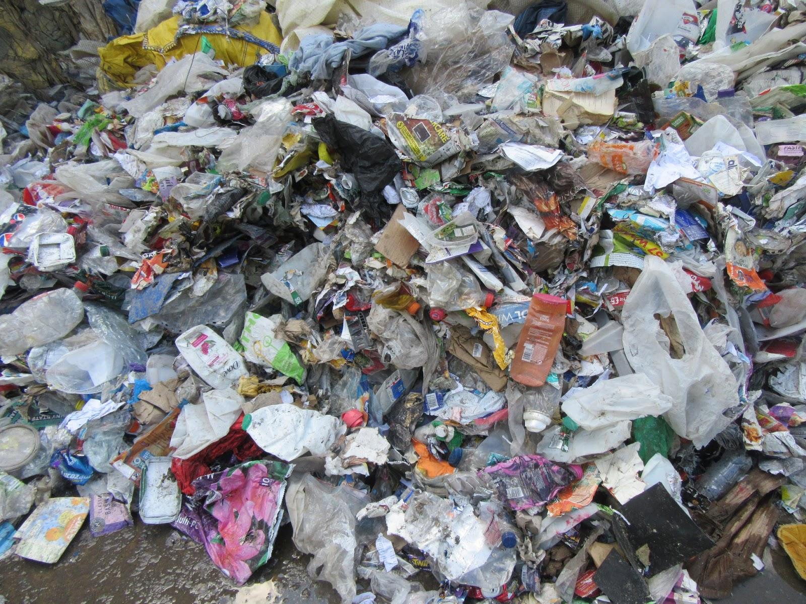 Pārstrādājamo atkritumu krāvums
