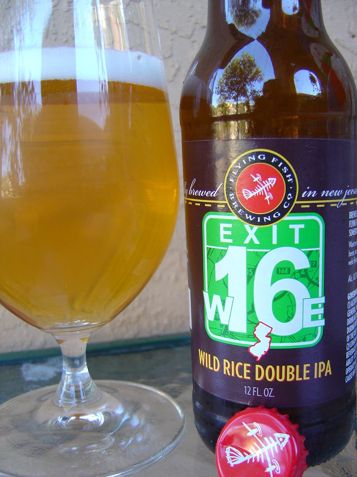 daily beer review exit 16 wild rice double ipa. Black Bedroom Furniture Sets. Home Design Ideas
