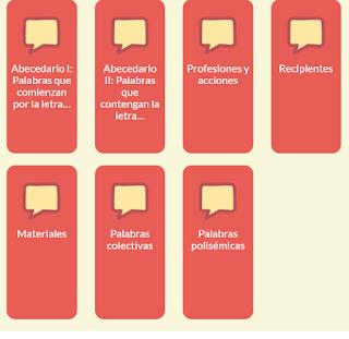JUEGOS DE PALABRAS Y VOCABULARIO PARA NIÑOS DE 1º DE PRIMARIA