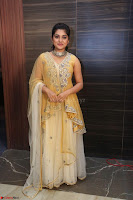 Nivetha Thamos in bright yellow dress at Ninnu Kori pre release function ~  Exclusive (73).JPG