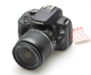 Kamera Bekas Canon EOS 100D SC Rendah