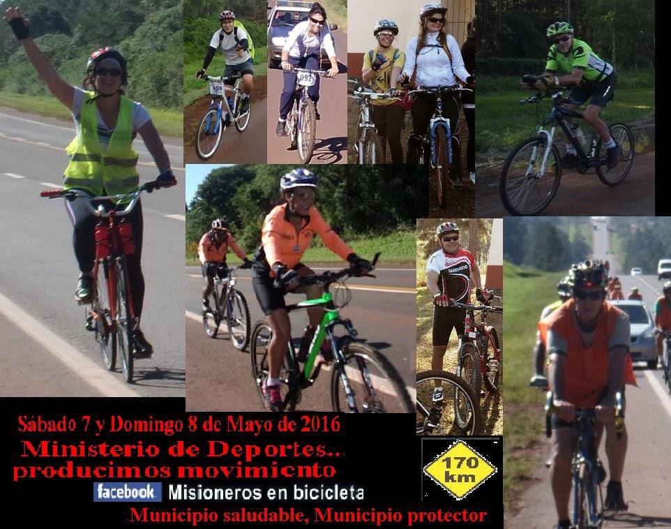 Misiones en bicicleta for Vivero arguello