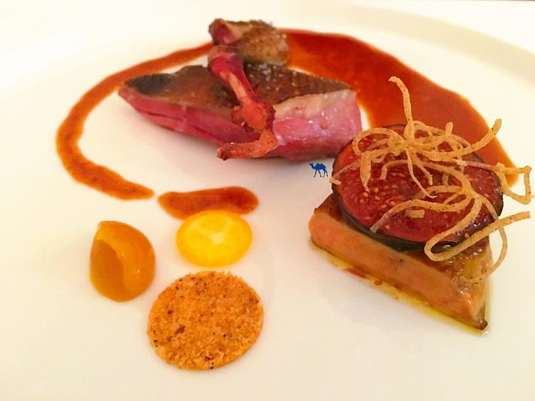 Le Chameau Bleu - Restaurant  gastronomique étoilé Paris - Pigeonneau grillé